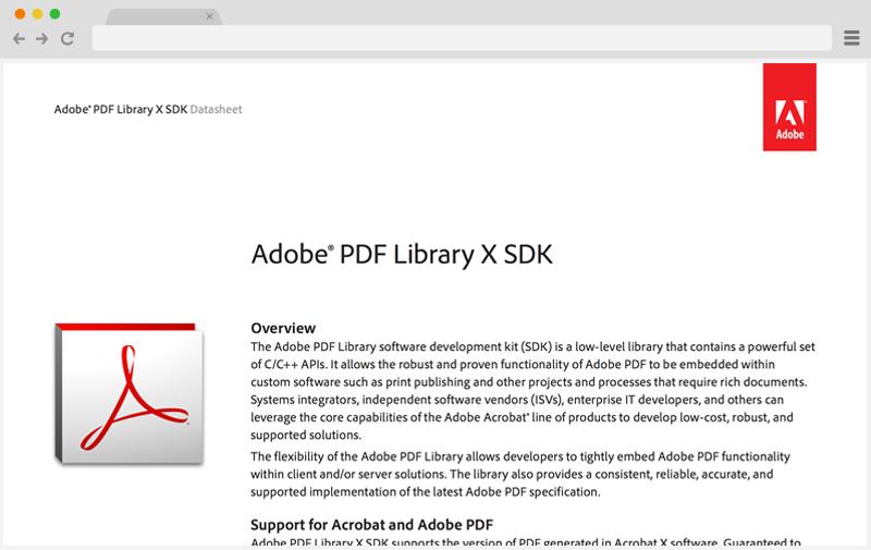 adobe portfolio pdf